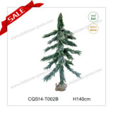 H70-150cm Personalized Plastic Extension Cord Green Christmas Tree