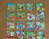 Promotional Die Cut Shape Puzzle Fridge Magnet/Custom Magnets