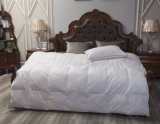White Bedlinen Duck Feather & Down Duvet Hotel Comforter