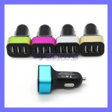 12V 5.1A Multi USB Car Power Adapter 3 Port Car Charger for iPhone iPad Sony HTC Blackberry Tablet PC
