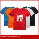 Custom High Quality Cotton Men′s T Shirts with Your Own Logo (R130)