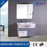 Simple Design PVC Ceramic Basin Unit Mirror Cabinet Bathroom