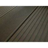HDPE impermeable WPC Decking (140m m x 21m m) Solid Composite Decking