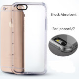 2017 Shock Absorbent Mobile Phone Clear TPU Case for iPhone 7