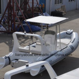 Liya 6.2m Hypalon Inflatable Boat Rigid Hull Inflatable Boat Sale