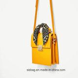 Newest Fashion Scarve PU Handbag Women Briefcase Hand Bag