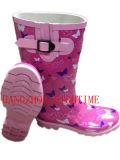 New Style Ladies Fashion Rubber Rain Boot for Woman (RT-17)