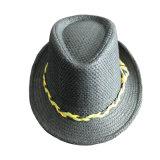 Custom Made Straw Fedora Hat