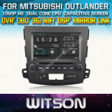 Witson Car DVD for Mitsubishi Outlander 2006- 2012 Car DVD GPS 1080P DSP Capactive Screen WiFi 3G Front DVR Camera