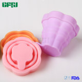 Collapsible Food Grade Silicone Serving Bowl Foldable Cup