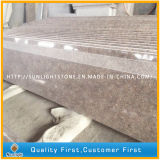 Polished G611 Pink Granite Flooring Tiles for Floor and Stair