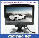 7 Inch Reverse Monitor Stand Adjustable Sunshade Design OSD Manu, Multi Languages