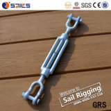 Forged Hot Galvanized Turnbuckles with Jaw and Jaw