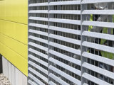 ISO Hot DIP Galvanized Steel Grating Fence