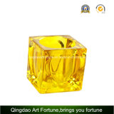 Tealight Lamp Faceted Cube Style for Home Decor