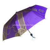 Cheap Mini Three Folding Umbrella for Promotional Use