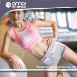 Popular Tracksuit Cotton Yoga Pants Womens Running Shirts (WC0006)