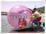 Good Quality Pink Color PVC/TPU Inflatable Water Balls