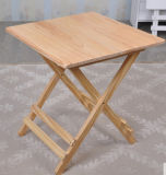 Solid Wood Outdoor Folded Table Garden Table (M-X1030)