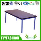 Rectangle Design Kid Furniture Single Table (KF-26)