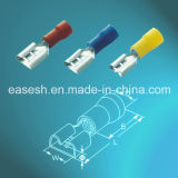 Insulated Female Disconnector Crimp Terminals with UL