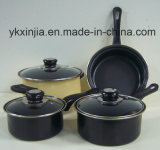 7PCS Carbon Steel Non-Stick Coating Kitchenware Set