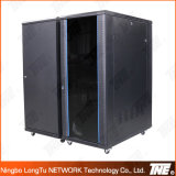 Network Cabinet with Temper Glass Door Front with Arc Mesh Frame