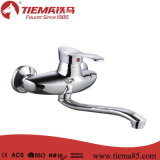 Chromed Single Lever Sink Wall Mixer (ZS52202)