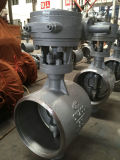 Worm Gear Operated Wcb GOST Butterfly Valve