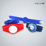 Best Selling Ntag203/213/216 RFID Silicone /Fabric Wristband