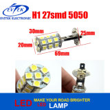 Auto Lamp H1 Car Fog Lamps H1 27SMD 5050 LED Lamp Source Headlight Parking Driving Lamp Bulb