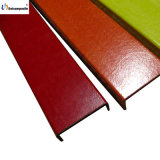Colorful Fiberglass Pultruded Channel Profile for Ladder