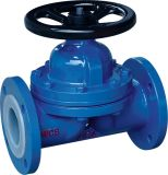Teflon Lined Diaphragm Valves