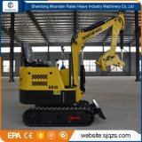 China 0.8ton Small Digging Excavator Machine with Various Attachment