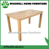 Oak Wood Rectangle Dining Table