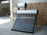 Galvanized Steel Low Pressure Solar Heater with Big Assistant Tank