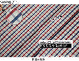 Red/Navy Checks Chequer Yarn Dyed Shirt Fabric