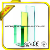 6.38-41.04mm Flat or Curved Colored Laminated Glass Factory with Ce / ISO9001 / CCC