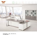 New Design Office Furniture Office Desk with Stainless Steel Leg (H70-0172)