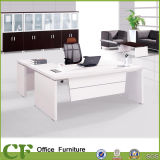 Office White Antique Desk Design with Side Table