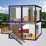 New Design Container Office-French Window with Stairs