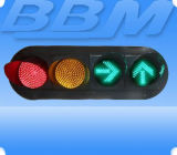 300mm LED Traffic Signal Consists of Two Ball Lights and Two Arrow Lights (JD300-3-45A)