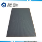 Glittery Dark Bronze Polycarbonate Hollow Plastic Panel