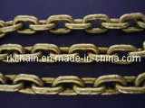 G80 Alloy Steel Lifting Link Chains 10mm in Yellow Zinc