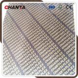 Chantaplex Combi Core Melamine Glue Film Faced Plywood for Construction
