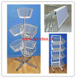 Metal Wire Iron Mesh Flooring Display Grid Rack