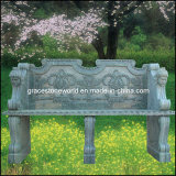 Carved Stone Table, Marble Bench (GS-TB-001)