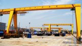 3 Ton to 32 Ton Electric Hoist Single Beam Gantry Crane (Box Frame Single Girder Gantry Crane)