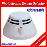Fire Alarm System Addressable Photoelectric Smoke Detector (AW-ASD2188)