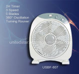 12 Inch Box Fan with Natural Wind (USBF-807)